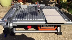 Ridgid 7in Tile Saw With Laser by Wet Tile Saw Ridgid Ridgid R4030 Ridgid 7 In Wet Tile Saw