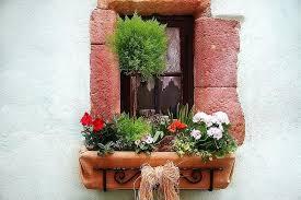Window Planters Box Rustic Flower With Wrought Iron Zinc Planter Uk