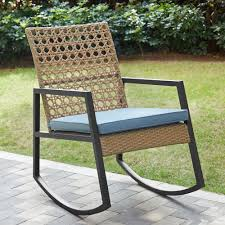 Walker Edison Furniture Company Light Brown Rattan Modern Patio Rocking  Chair With Blue Cushion Patio Fniture Accsories Rocking Chairs Best Choice Amazoncom Wood Slat Outdoor Chair Light Blue Upc 8457414380 Polywood Presidential Pacific Jefferson Recycled Plastic Cushioned Rattan Rocker Armchair Glider Lounge Wicker With Cushion Grey Quality Wooden Fredericbye Home Hanover Allweather Adirondack In Aruba Hvlnr10ar Us 17399 Giantex 3 Pc Set Coffee Table Cushions New Hw57335gr On Aliexpress Dark Folding Porch Winado 533900941611 3pieces