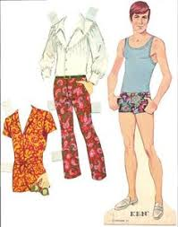 Ken Paper Dolls 1970 Those Are Some Fetching Underpants