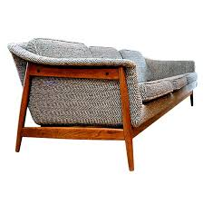 Dux Danish Modern Mid Century Sofa at 1stdibs