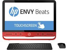 ordinateur de bureau tactile tout en un hp tout en un envy beats 23 n040nf ecran 23 hd tactile