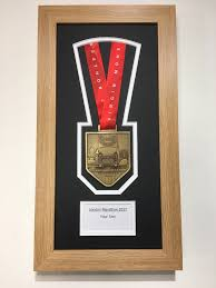 London Marathon Medal Display Frame