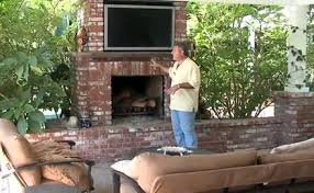 Video Outdoor Fireplace Design Video Landscaping Network