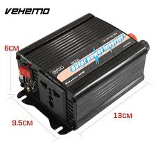 VEHEMO DC12V To AC220V 300W Solar Panel Adapter Car Inverter ... Tripp Lite Power Invters Inlad Truck Van Company How To Install A Invter In Your Vehicle Biz Shopify Amazoncom Kkmoon 1500w Watt Dc 12v To 110v Ac Shop At Lowescom Autoexec Roadmaster Car With Builtin And Printer 1200w Charger Convter China Iso Certificated 24v Oput Cabin Air 24v Pure Sine Wave 153000w Aus Plug Caravan Tractor Auto Supplies Http 240v Top Quality 1000w Truckrv 3000w 6000w Pure Sine Wave Soft Start Power Invter Led Meter