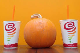 Pumpkin Smash Jamba Juice by Caribou Coffee U0027s Pumpkin White Chocolate Mocha From 11 Deliciously
