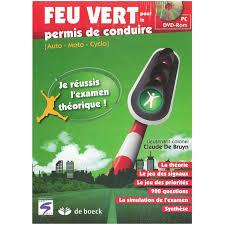 siege auto feu vert feu vert 2013 permis de conduire cd rom auto5 be