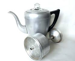 Vintage Coffee Percolator Stove Top