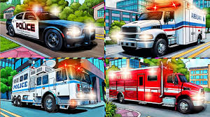Emergency Vehicles | Learning Vehicles Sounds Puzzle | Police Car ... Fire Truck Emergency Vehicles In Cars Cartoon For Children Youtube Monster Fire Trucks Teaching Numbers 1 To 10 Learning Count Fireman Sam Truck Venus With Firefighter Feuerwehrmann Kids Android Apps On Google Play Engine Video For Learn Vehicles Wash And At The Parade Videos Toddlers Machines Station Bus Vs Car Race Battles Garage Brigade Tales Tender