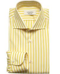 napoli dress shirt 37 yellow men u0027s kamakura shirts