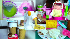 Dora The Explorer Kitchen Set India by Ice Cream Maker Sandwich Pasta Maker And Popin Cookin