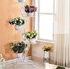 pflanze bodenständer eisen blumengestell wohnzimmer