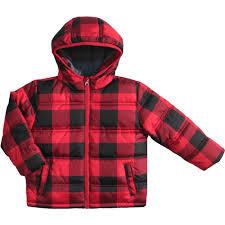 healthtex baby toddler girls u0027 bubble puffer jacket walmart com