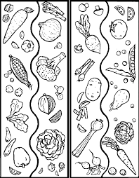 Free Printable Coloring Pages Vegetables