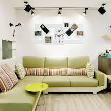 Nordic Style Photo Frame Wall Clock DIY Modern Desigh Multi Photo Art Picture Frame Clock For Living Room Horloge Home Decor