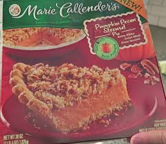 Pumpkin Pie With Pecan Praline Topping by Marie Callender U0027s Pumpkin Pecan Streusel Pie Preparation U0026 Review