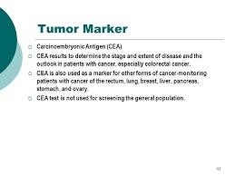 cea test normal range gastroenterology tests for alcoholism ppt