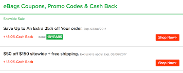 18% Cashback At EBags.com Through Ebates Ebags Massive Sale Includes Tumi And Samsonite Luggage Coupon Ebags Birthday Deals Twin Cities Mn Online Discount Code Gardeners Supply Company Coupon Dacardworld Promo For New Era Romans Codes Glassescom Promo 2018 Code Deal 2014 Classic Packing Cubes Travel 6pc Value Set Black Wonderful Ebags Codes 80 Off Coupons Jansport Columbus In Usa How To Get Free Amazon Generator Ninja Tricks At Stacking Offers For 50 Savings