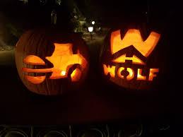 Werewolf Pumpkin Carving Ideas by Wolf U0027s Asphalt Paving Blog