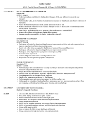 Related Job Titles Systems Technician Resume Sample
