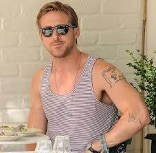 Ryan Gosling Famous Celebrity Tattoos