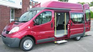 Atlas Specialised Mobility Vehicle Conversions The Renault Traffic Vauxhall Vivaro Minibus