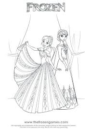 Frozen Elsa Printable Coloring Sheets Pages Let It Go Games Christmas Sisters