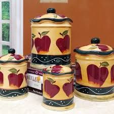 Image Of Luxury Apple Kitchen Decor Sets