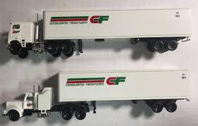 100 Ccx Trucking N Scale ConCor 0004003004 Semi Tractor Trailer