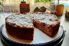 veganer apfel mandel kuchen