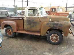 100 1957 International Truck 4X4 Project S120 Pickup