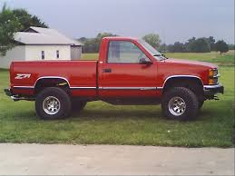 100 2006 Chevy Truck Red Silverado 1500 Single Cab 4x4 TENNESSEEZ71s