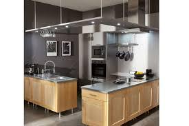 cuisine alu et bois cuisine bois cuisine grise et bois cuisine alu et bois vkus co