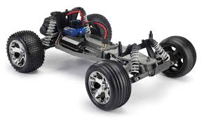 Traxxas Rustler XL-5 1/10 Stadium Truck RTR 2WD W/ Battery And ... Traxxas Rustler 110 Rtr 2wd Electric Stadium Truck Rock N Roll W White Tra370541wht 370764rnrs Vxl Brushless Xl5 Battery And Nitro 25 With Tsm Blue Tra370541blue 4wd Scale Rc Car Wikipedia Traxxas Rustler Blue Brushed Tq 24