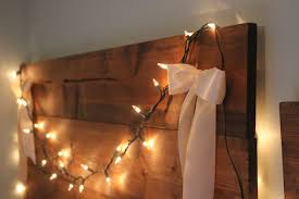 Headboard Lights For Reading by Home Design Diy Headboard With Lights Home Builders Furniture