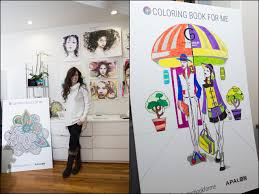 Apalon Mobile Brings Top Ranking Coloring Book For Me App To Caravan Stylist Studio At New York Fashion Week