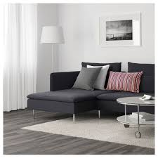 söderhamn 4 seat sofa with chaise longue samsta dark grey ikea