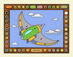 Coloring Book 12 Airplanes 3