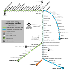 List of Santa Clara VTA Light Rail stations