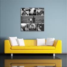dekoration 100 photo collage canvas square premium