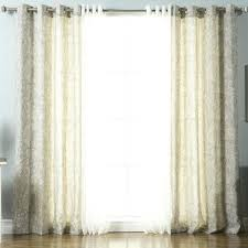 Sheer Curtain Panels With Grommets by Semi Sheer Curtains Canada Paisley Grommet Curtain Panels Oaks