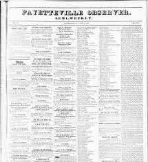 Fayetteville Observer. (Fayetteville, N.C.) 1851-1865, May 30 ... Elevation Of Fayetteville Nc Usa Maplogs Does Do Enough To Prevent Child Deaths News The Times Church Information Obsver 511865 April 21 13m Friendship House In Haymount Looks Promising Optometrist Dr Ennis Advanced Eye Care Triangle Park Chapter Links Inc Members Reviews Plastic Surgery Producer And Stars Real Housewives Visit Nccu Trustee Presents 5000 Gift Toward Physical Acvities Cc Need October 14