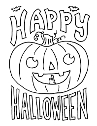 Halloween Coloring Pages With Filename