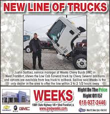 Weeks Chevrolet Buick GMC - WeeklySpecials 2018 Honda Ridgeline Price Photos Mpg Specs Elderly Man Dies After Atv Strikes Parked Delivery Truck Titan Fullsize Pickup Truck With V8 Engine Nissan Usa Most Expensive Trucks Today All Starting From 500 China Good Brake Shoe 4720 4792 Eaton 819707 Cheap Maxi Find Deals On Line At Suvs Crossovers Vans Gmc Lineup The Real Cost Of Trucking Per Mile Operating A Commercial New Peterbilt For Sale Service Tlg Moving Rentals Budget Rental Denali Luxury Vehicles And
