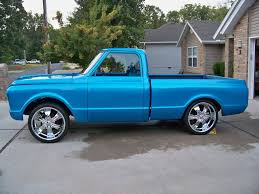 Let's See Some Blue 67-72 Trucks - The 1947 - Present Chevrolet ... 671972 C10 Pick Up Camper Brakes Best Pickup Truck Curbside Classic 1967 Chevrolet C20 Pickup The Truth About Cars 1971 Not 78691970 Or 1972 4wd Shortbed 71 Tci Eeering 631987 Chevy Truck Suspension Torque Arm 72 79k Survir 402 Big Block Love The Just Wouldnt Want It Slammed Cheyenne Step Side Maple Hill Restoration Customer Gallery To I Have Parts For Chevy Trucks Marios Elite 1968 1969 1970 Gmc Led Backup Light