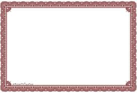 Free Certificate Border Artwork Background Templates