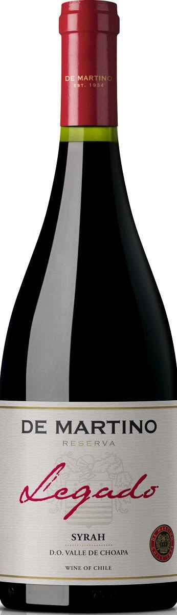 De Martino Legado Reserva Syrah - Red, Chile