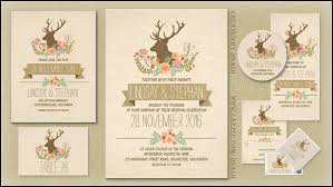 Read More DEER COUNTRY RUSTIC WEDDING INVITATIONS