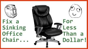 Fix A Sinking Office Chair For Less Than A Dollar! [Tutorial] - YouTube Amazoncom Opttico Office Chair Caster Wheels Replacement Black 3 Set Of 5 By Lehawk Universal Heavy Rollerblade Casters For Herman Miller Aeron 6pcs Wheel Swivel Mute Hard Soft Pu Castor For Timber Floor Pack Duty Stem Roller 3inch 1pcs 40kg 2 Improv Carpet Floors Slipstick Foot Desk No Without White Luxura Computer With Which One Should I Choose