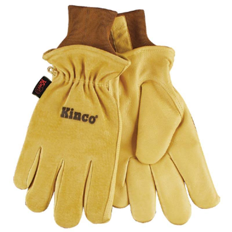 Kinco Lined Pigskin Heatkeep Work Gloves - Large